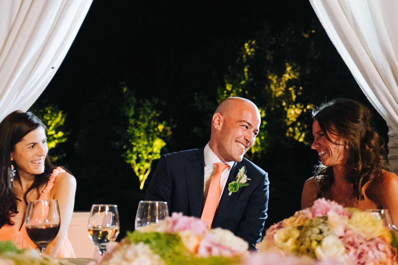 bride and groom at overseas wedding