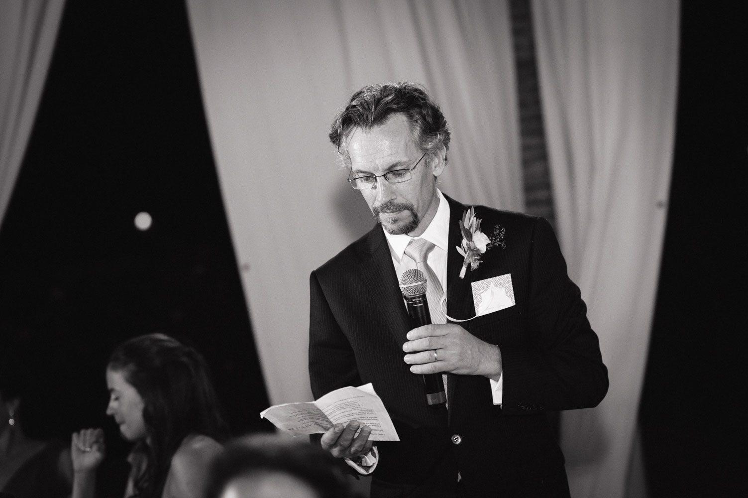 brother makes sincere wedding speech