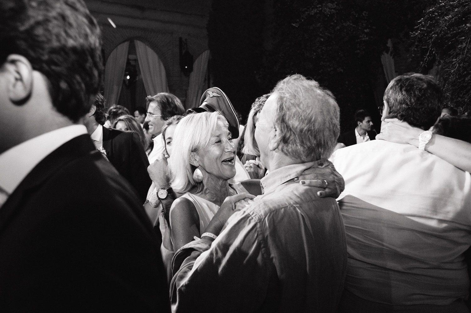 weddings guest dancing