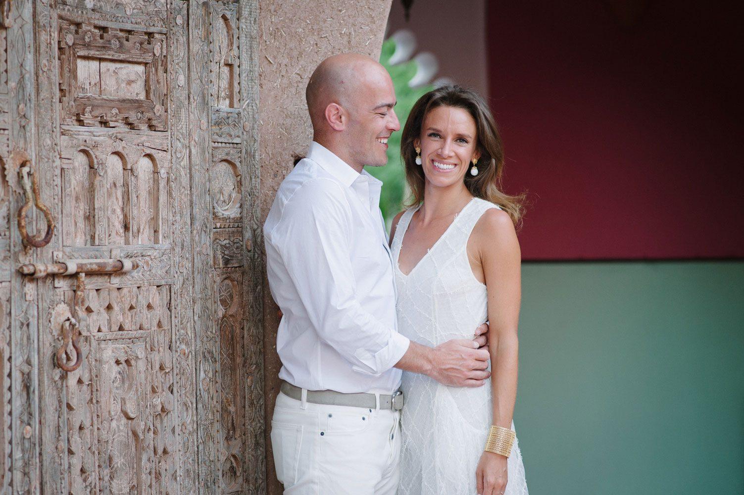 bride and groom at beldi club