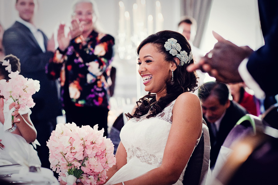 bride celebrates corinthia hotel wedding