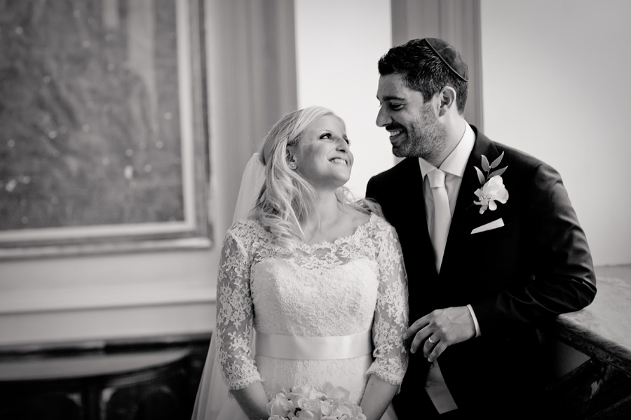 bridal portrait landmark hotel wedding photos