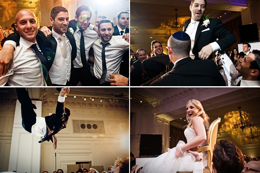 jewish wedding dancing landmark hotel wedding