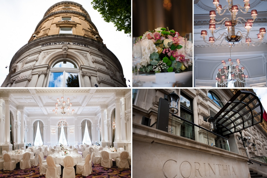 corinthia hotel london weddings