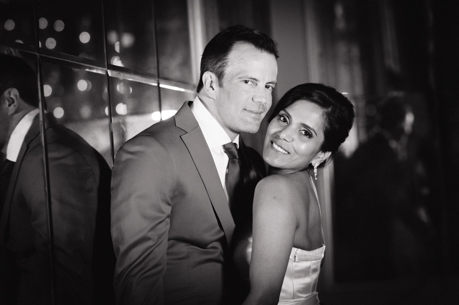 bride and groom north hall corinthia london