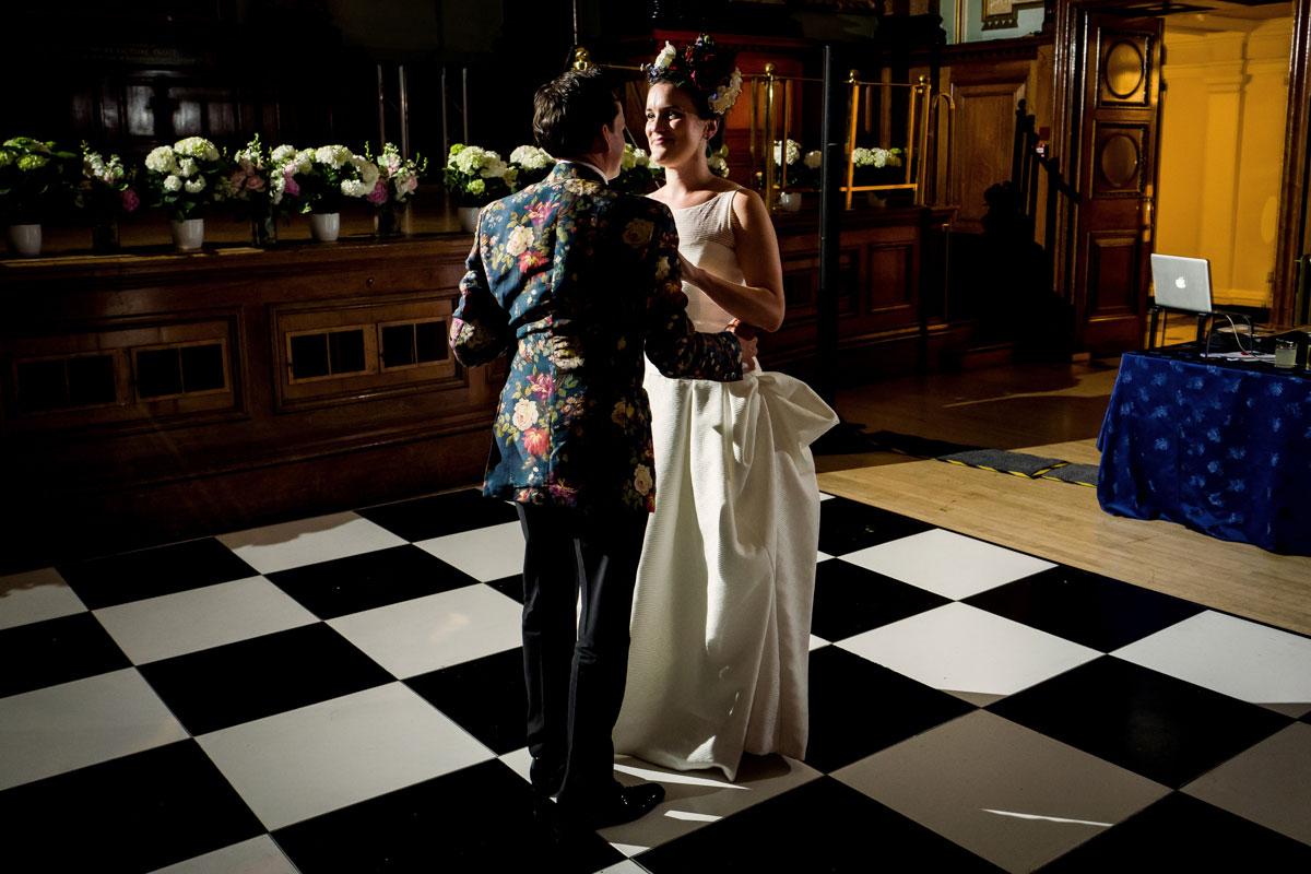 chelsea wedding bride groom