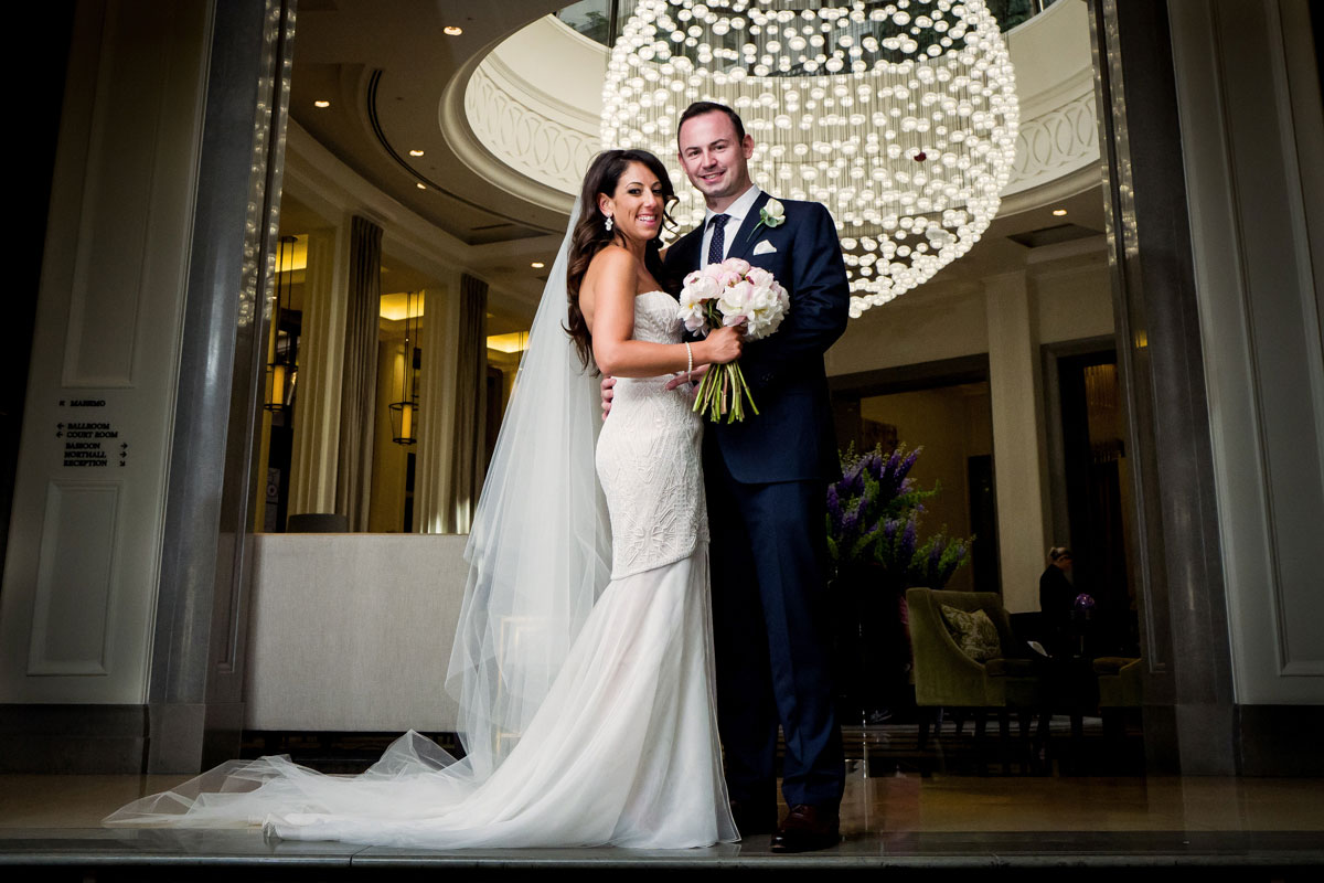 stylish corinthia wedding