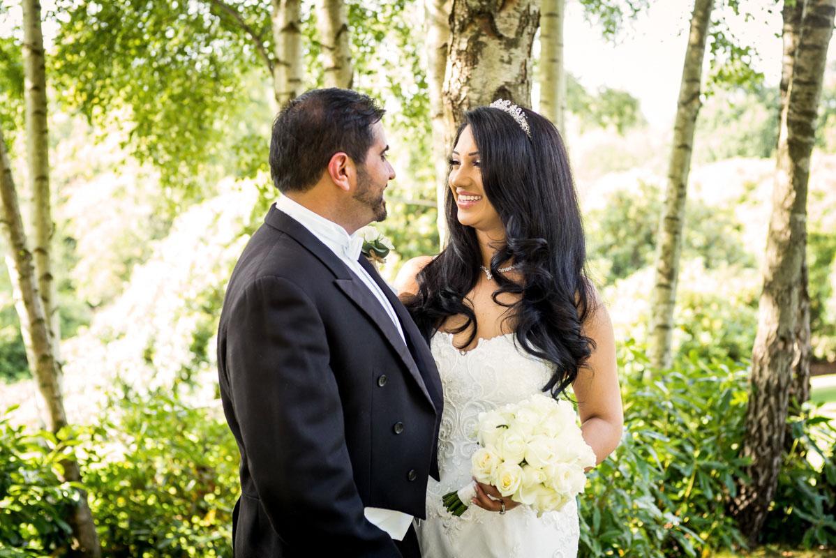 spa hotel wedding