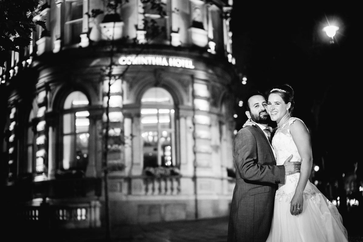 jewish corinthia wedding