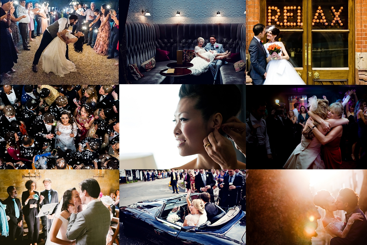 london wedding photographers montage